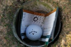 This is the best place for your Callaway golf ball to be. Especially after only one shot.