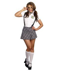 sexy brunette girls Nerdy To Naughty School Girl Womens Costume Sexy Halloween Costumes, Girl Costumes, Costumes For Women, Girl Halloween, Funny Halloween, Adult Costumes, Redhead Girl, Brunette Girl, Naughty School Girl Costume