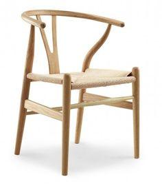 Stuhl Wishbone Style (Buche)