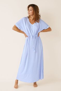 Prendas de dormir y homewear: Pijamas, camisones, batas... | Women'secret Jersey Dresses, Summer Pajamas, Pajama Shirt, Jumpsuit Dress, Style Clothes, Pyjamas, Pj, Nightwear, Night Gown