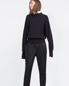 PLEATED TROUSERS-View all-Trousers-WOMAN | ZARA United States
