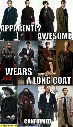 """Long coat theory, """"mum i need a long coat!"""""""
