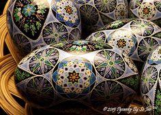 Pysanky By So Jeo Ukrainian Easter Eggs