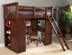 bunk bed with drawers plans free