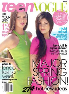 Kendall and Kylie Jenner March 2012