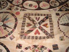 I SEW QUILTS: Cheltenham Museum Quilts close-up