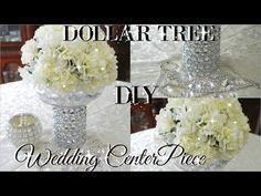 gold and silver bling vases. | Glamorous Weddings | Pinterest ...