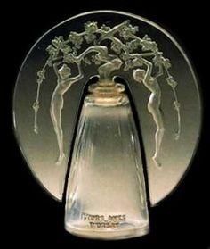 rene lalique perfume bottles - Leurs Ames