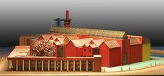 Aldo Rossi, Deutsches Historisches Museum - Club Milano Aldo Rossi, Postmodernism, Palazzo, Architectural Sketches, Architectural Models, Cabin, Club, Architecture, House Styles
