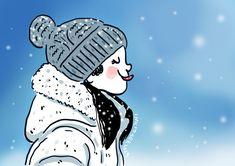 Inktober Day 04 - Freezing in Snow Inktober, Cinderella, Disney Characters, Fictional Characters, Frozen, Snow, Disney Princess, Nice, Art