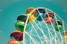 https://creativemarket.com/una_sinkevica/1162633-Ferris-wheel?utm_source=Pinterest&utm_medium=CM Social Share&utm_campaign=Product Social Share&utm_content=Ferris wheel ~ Architecture Photos on Creative Market  #wheel #ferris #park #amusement #fair #blue #carnival #sky #carousel #fun #midway #colorful #circle #entertainment #festival #ride #family #summer #holiday #red #happy #top #theme #joy #vacation #rotate #circus #leisure #play #activity #spin #stock #stock #space #insta