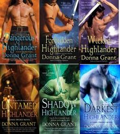 Dark Sword series by Donna Grant