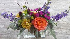 Pretty, colorful summer flowers. #atlanta_flowerbar #atlantaflorist #atlantawedding #weddingflowers #atlantaweddingflorist #shoplocal #flowersonthebeltline #inmanparkflorist #o4w Cake Flowers, Summer Flowers, Atlanta, Floral Wreath, Reception, Wreaths, Colorful, Pretty, Decor