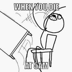 EVERY...SINGLE...TIME!!!!!!! UGH!!!!! <<< It's so hard if you're in the 5th night at 5am then your power runs out! It's horrible! ~Ava <<<5am … watch out … I need to break something …~Nix
