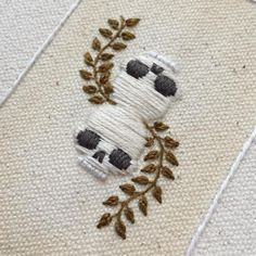 J is on his way to Dublin, so I am combating pangs of envy with a piece for @dominowhisker. This way I can sort of be there too, right?  #wip #tinycupneedleworks