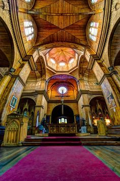 Iglesia de San Francisco by Charles Brooks, via 500px. Castro Chiloe.
