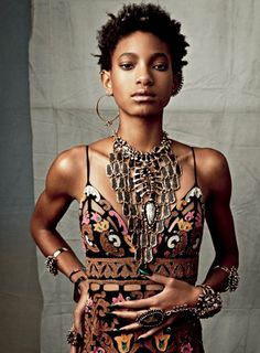 CR Fashion Book; Issue 6 – Willow Smith