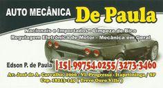 AUTO MECÂNICA DE PAULA NACIONAIS E IMPORTADOS