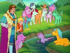 "♣ David hasslHoff in ""Burger king meets my little pony's""? My Little Pony Vintage, Original My Little Pony, My Little Pony Poster, My Little Pony Cartoon, Cute Cartoon, Mini Pony, My Little Nieces, Little Poney, Rainbow Brite"