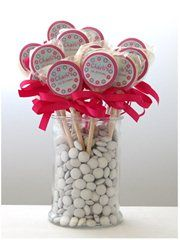Personalised Candy - Lollipops