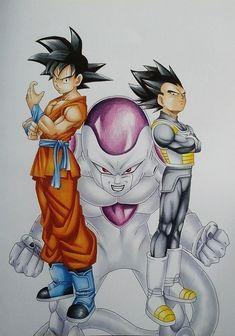 Dragon Ball super drawing