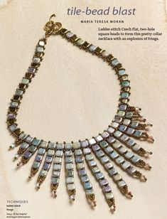 Shaped Bead Craze-Inspiring Projects and Great Resources