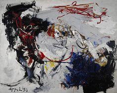Karel Appel - Danse d'espace avant la tempête (1959)