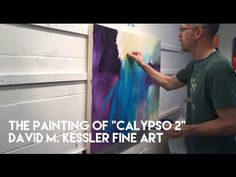 """Abstract Painting of """"Alive Again"""" by David M. Kessler - YouTube"""