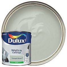 Dulux Silk is a smooth and creamy emulsion paint for use on walls and ceilings which is ideal for a delicate shine finish. Dulux White Mist, Dulux White Cotton, Dulux Polished Pebble, Houses