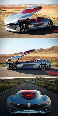 La Renault Trezor donne les grandes lignes du futur design de la marque. #conceptcars