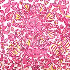 Hotty Pink Sailors Valentine