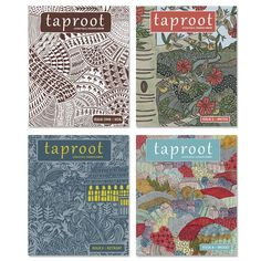 Purchase all four issues of Taproot Magazine's first year at a discount of 30% off the cover price.