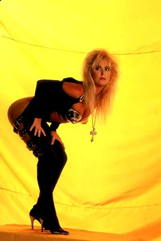 Lita Ford Hungry Promo shot