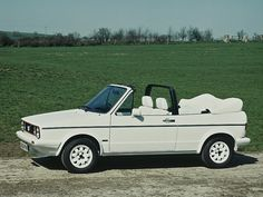 Volkswagen Golf Cabrio - that is my DREAM CAR its white and EVERYTHING <3 - other than a jeep i want THAT