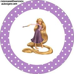 Tangled (Rapunzel) Party Free Printables.