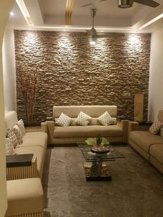 Last Trending Get all images room interior wall design Viral d d abfe d d a e Home Room Design, Stone Walls Interior, Stone Wall Interior Design, Stone Accent Walls, Interior Wall Design, Wall Tiles Living Room, Home Interior Design, Drawing Room Interior, Living Room Design Modern