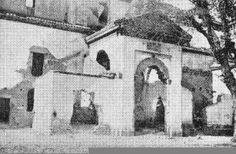 Iglesia de San Nicolás, destruida por el incendio de 1932.