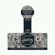 Yogurt Packaging, Honey Packaging, Cookie Packaging, Tea Packaging, Food Packaging Design, Jar Design, Bottle Design, Label Design, Honey Bottles