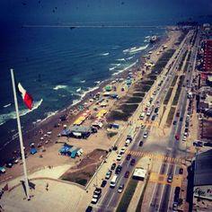 Malecón en Coatzacoalcos, Veracruz-Llave
