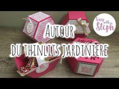 Thinlits «Jardinière» et sa vidéo      Scrap with Steph