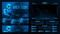 Gaming stream overlay on Behance Display Banners, News Games, Overlays, Graphic Design, Digital, Projects, Gaming, Behance, Neon