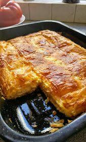ΜΑΓΕΙΡΙΚΗ ΚΑΙ ΣΥΝΤΑΓΕΣ 2: Τυροπιτούλα υπέροχη !!!! Pita Pizzas, Orzo Salad, Kfc, Lasagna, Feta, Food And Drink, Appetizers, Cooking Recipes, Favorite Recipes