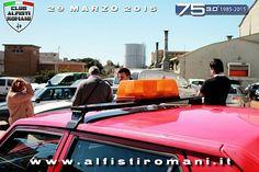 10° Raduno 30° Anniversario Alfa Romeo 75 - 29 Marzo 2015 - Pomezia (RM) #AlfistiRomani #30Alfa75 @alfaromeoglobal #AlfaRomeo
