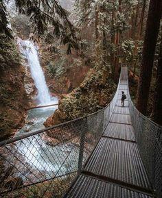 British Columbia. Photo: @ryanresatka #wanderlog #nature #landscape #scenery #travel #adventure #photography #waterfall #canada #britishcolumbia