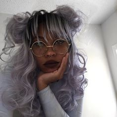 Those days where everything negative hits you all at once and the smallest inconvenience tips you off into a nervous breakdown ☺️ This isn't your average everyday sadness.. this is [dun dun dun] advanced sadness // wig @uniwigs