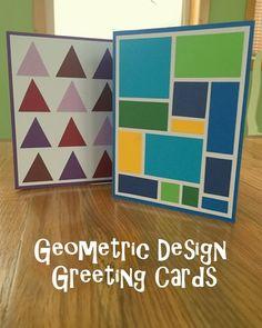 Greeting Card Series v2: Geometric Designs