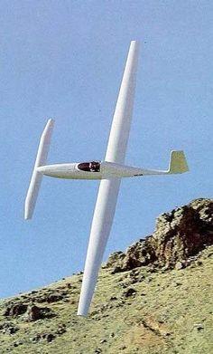 Solitaire glider, Burt Rutan