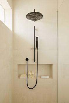 Our Warm Minimalist Bathroom Renovation - Harper and Harley Bathroom Design Small, Bathroom Interior Design, Modern Bathroom, Japanese Bathroom, Minimalist Bathroom Design, Beige Bathroom, Contemporary Bathrooms, Bathroom Renos, Bathroom Tapware