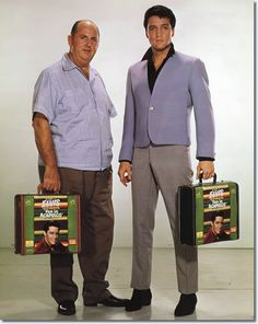 Colonel Tom Parker and Elvis Presley - Fun In Acapulco Publicity Photo