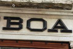 detall rètol, Lisboa. foto miquel